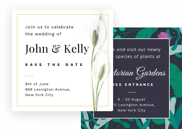 Design and Create Invitations Online