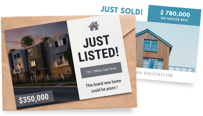 Real Estate Postcards Start From A Template