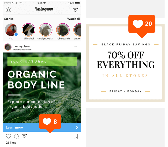 Create Instagram Ads