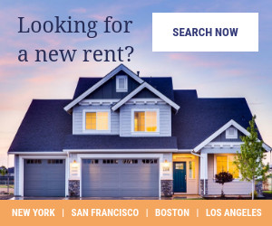 modern real estate banner ad template