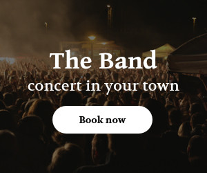 band concert promotion event template