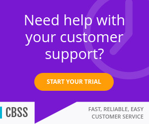 customer support service display banner template