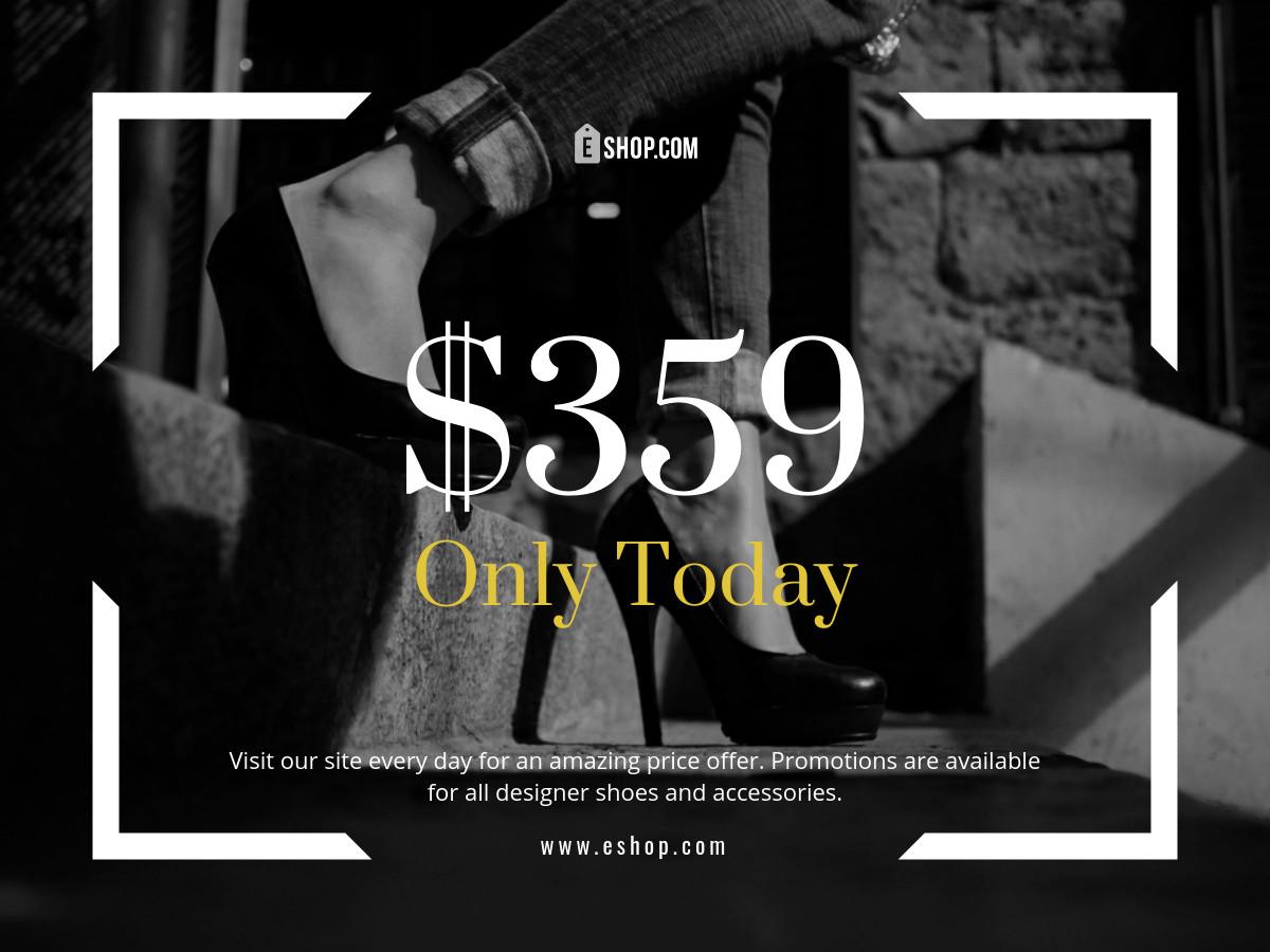 online shop sale fashion template