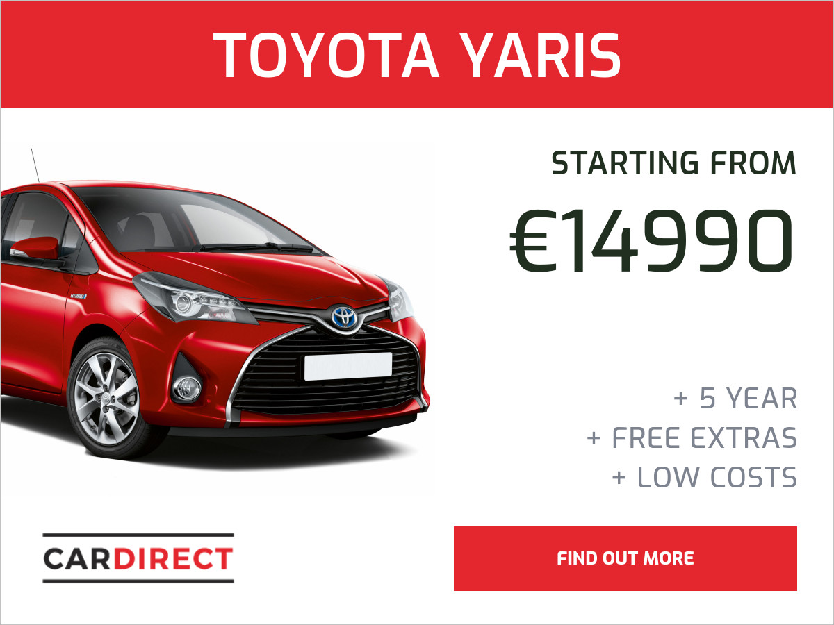 toyota yaris banner template collection