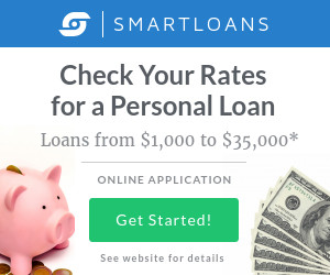 smart loans personal loans banner ad template