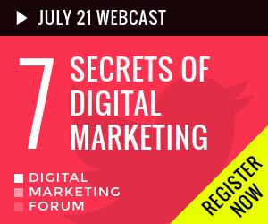 7 secrets of digital marketing banner ad template set