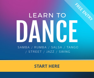 dance lessons online banner template