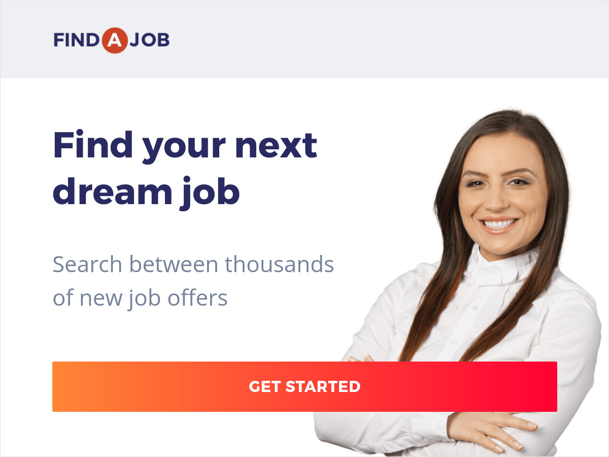 find your dream job banner ad templates