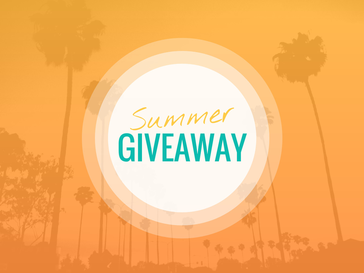 online giveaway design template