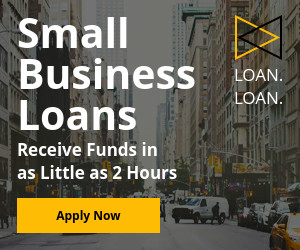 Small Business loans banner set design Medium Rectangle 300x250