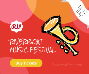 riverboat music festival event template