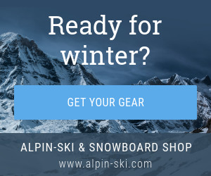 ready for winter sports banner template