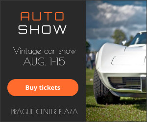 auto show banner ad template