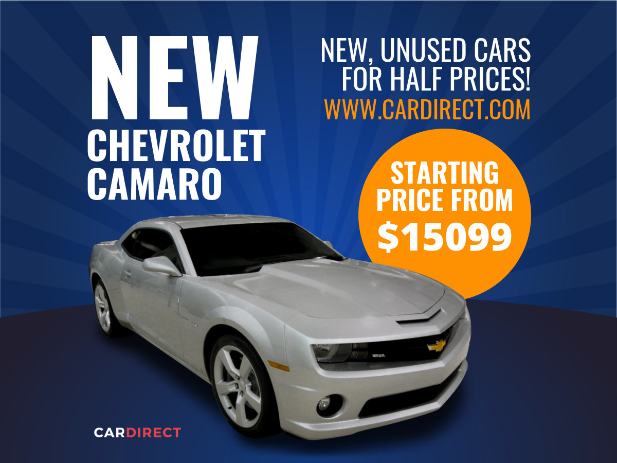 car special offer spectacular ad template